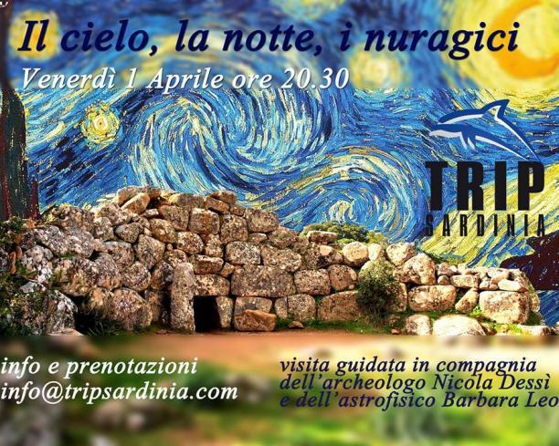 Il cielo, la notte, i nuragici... a un passo da Cagliari, con aperitivo -    sabato 21 Aprile